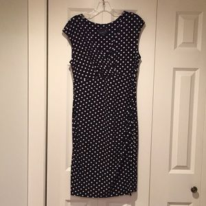 Scarlett fitted dotted dress size 12